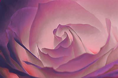 Rosy Daydreamer Art Print