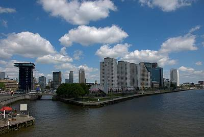 Photograph - Rotterdam Skyline by Steven Richman