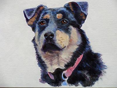 Painting - Rottie Female 2 by Judy Fischer Walton