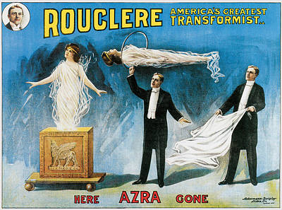 Painting - Rouclere America's Greatest Transformist by Unknown