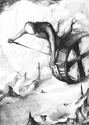 Rough Journey Art Print by Rephfy