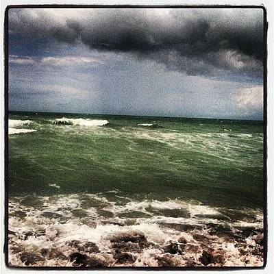 Water Wall Art - Photograph - Rough Waters by Lea Ward