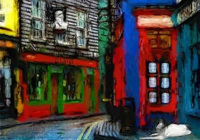 Round The Corner Art Print by Steve K