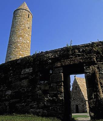 Round Tower And Chapel, Ulster History Art Print