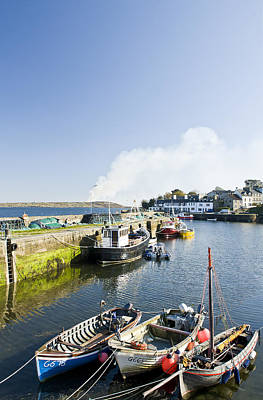 Y120831 Photograph - Roundstone Harbour, Connemara, Ireland by Ben Pipe Photography
