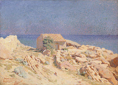 South Of France Painting - Roussillon Landscape by Georges Daniel de Monfreid