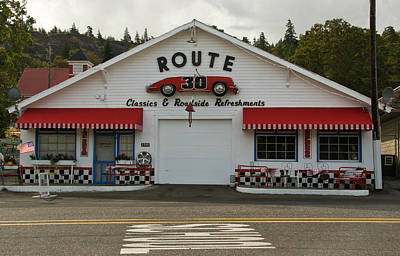 Photograph - Route 30  by Roger Mullenhour