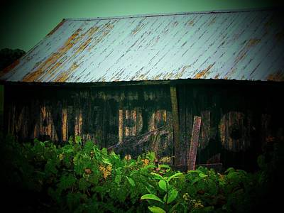 Mail Pouch Photograph - Route 50 Barn by Joyce Kimble Smith