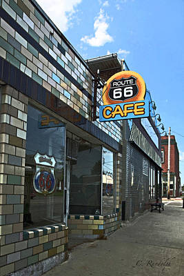 Photograph - Route 66 Cafe by Cheri Randolph