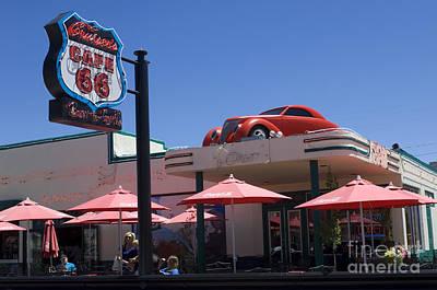 Route 66 Cruisers Williams Arizona Art Print by Bob Christopher
