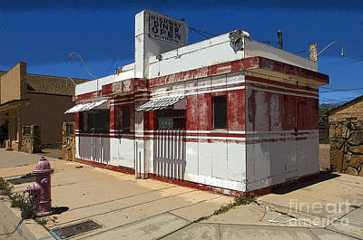 Photograph - Route 66 Diner Winslow Arizona by Bob Christopher