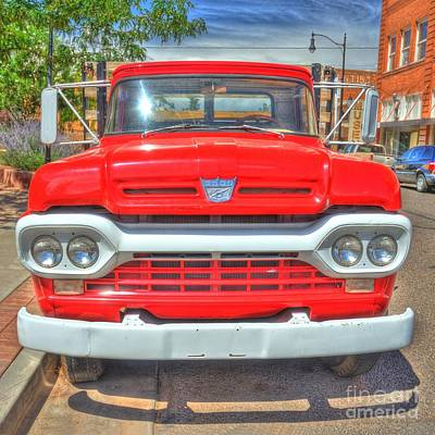 Route 66 Flatbed Ford Art Print