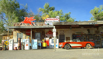 Route 66 Hackberry Arizona Art Print by Bob Christopher