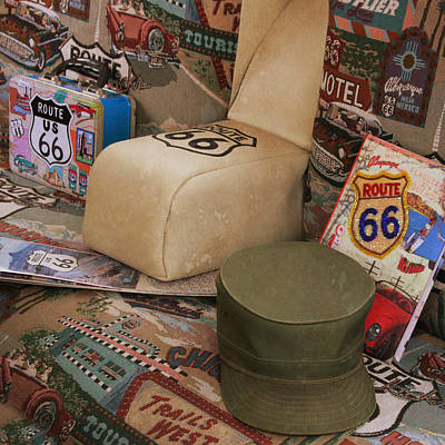 Photograph - Route 66 Memorablilia by Joel Witmeyer