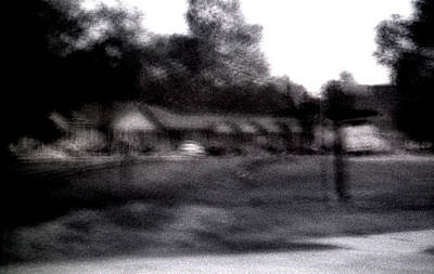 Photograph - Row Houses- Monroe Louisiana by Doug Duffey
