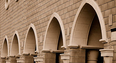 Photograph - Row Of Arches by Holly Blunkall