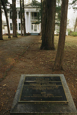 Artists And Artisans Photograph - Rowan Oak Was The Home Of Southern by Stephen Alvarez