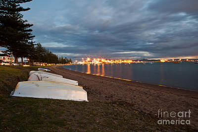 Ecosystem Photograph - Rowboats At Dusk by John Buxton