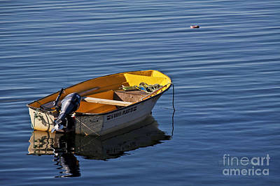 Impressionism Photos - Rowing Boat by Heiko Koehrer-Wagner