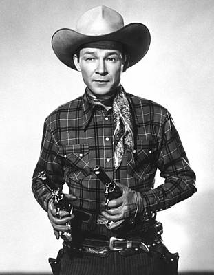 Publicity Shot Photograph - Roy Rogers, Ca 1950 by Everett