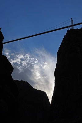 Photograph - Royal Gorge Bridge And Sky by Robert Meyers-Lussier
