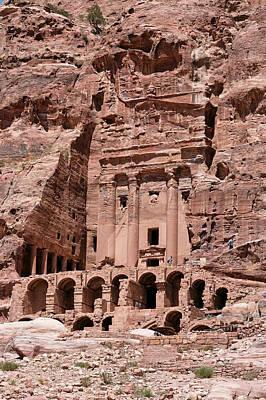 Royal Graves, Djebel Khubtha, Petra, Jordan Art Print by Patrice Hauser