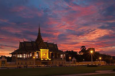 Photograph - Royal Sunset by David Freuthal