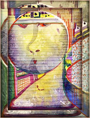 Insane Painting - Rrrrooobot by Mindy Newman