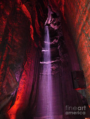Photograph - Ruby Falls Waterfall 8 by Mark Dodd