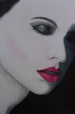 Painting - Ruby Lips by David Hawkes