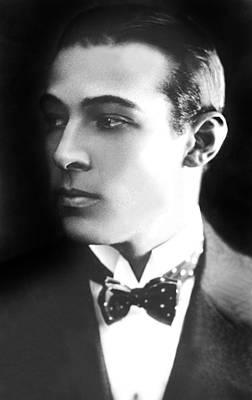 Publicity Shot Photograph - Rudolph Valentino, Ca 1921 by Everett