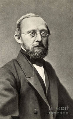 Rudolph Virchow, German Polymath Art Print by Photo Researchers