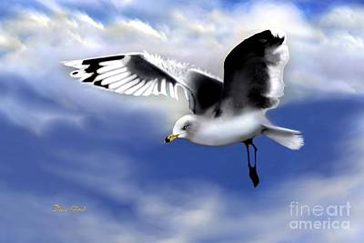 Ruffled Feathers Art Print by Dale   Ford