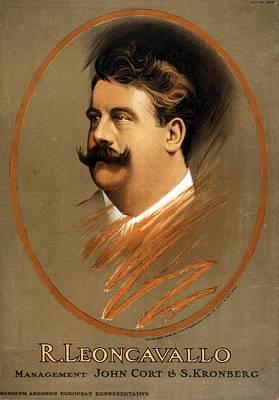 Realism Photograph - Ruggiero Leoncavallo 1858-1919 Italian by Everett