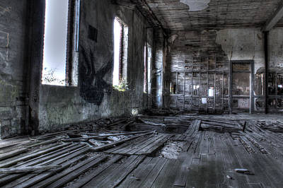 Photograph - Ruined by Andrew Pacheco