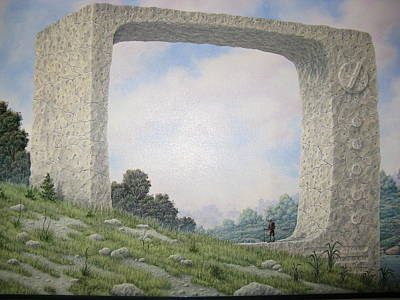 Analog Painting - Ruins Of Analog by Arley Blankenship
