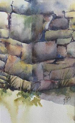 Stonewall Painting - Ruins by Ramona Kraemer-Dobson