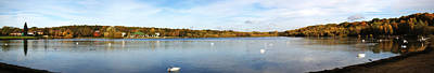 Photograph - Ruislip Lido In Autumn by Chris Day