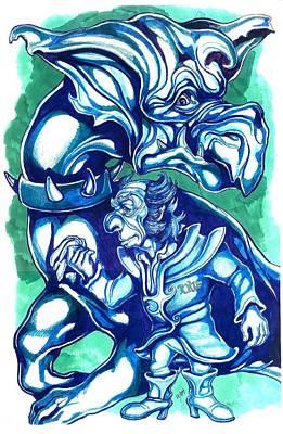 Ruler Of The Known Universe Art Print by Jamie Jonas