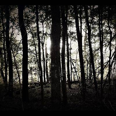 Horror Photograph - Run re-edit #woods #creepy #horror by Anthony  Bates
