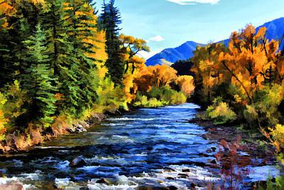 Art Print featuring the photograph Run River Run by Brian Davis