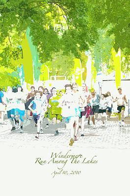Run Walk Poster Art Print