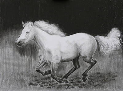 Runaway Mollie Art Print by Tomas OMaoldomhnaigh