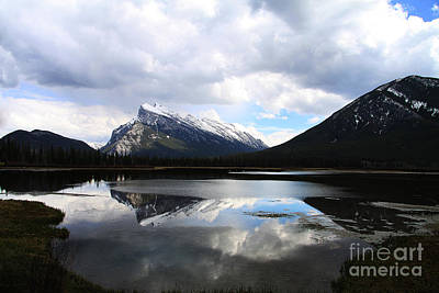 Photograph - Rundle And Sulphur by Alyce Taylor