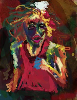 Jog Digital Art - Runner by James Thomas