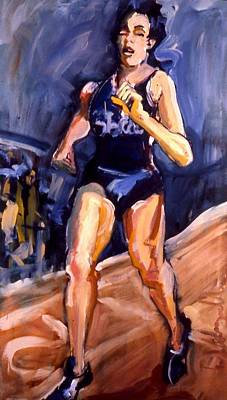 Painting - Runner by Les Leffingwell