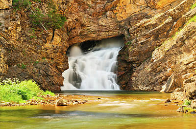 Photograph - Running Eagle Falls by Greg Norrell