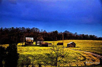 America Photograph - Rural America by Bill Cannon