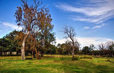 Rural Australia Print by Imagevixen Photography