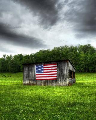 Photograph - Rural Barn by Steve Hurt